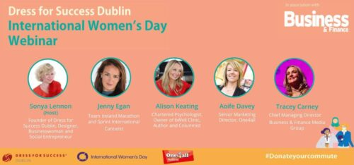 Business & Finance is proud to partner with Dress for Success Dublin for this International Women's Day | Business & Finance