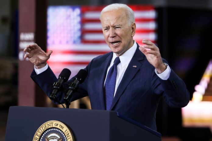 Biden's 100-day stock market performance is the hottest going back to the 1950s